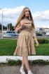 Платье Lady Smile 1017_6 беж