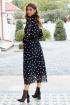 Платье AYZE 2319 черно-белый