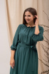 Платье Angelina 690 изумруд