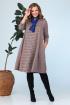 Платье, Шарф Anastasia 704+шарфик красный