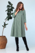 Платье, Шарф Anastasia 704+шарфик зеленый