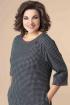 Платье Romanovich Style 1-2217 черный/серый