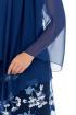 Платье Effect-Style 677 синий