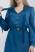 Платье,  Пояс Effect-Style 824 изумрудный