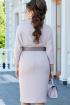 Платье Vittoria Queen 14273 пудра