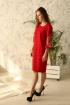Платье Edibor 2015 красный