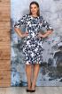 Платье Белтрикотаж 4352 синий