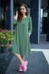 Платье, Шарф Anastasia 495+ шарфик мятно-зеленый