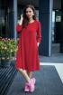 Платье Anastasia 495 красный