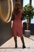 Платье Anastasiya Mak 932 коричневый