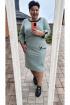 Платье Vittoria Queen 14473 фисташка