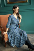 Платье Anastasia 562 синий