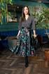 Платье Anastasia 719 серый