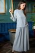Жакет,  Кюлоты Anastasia 699 серый