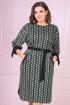 Платье VOLNA 1212 бутылочно-зеленый