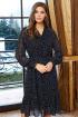 Платье AYZE 2182 черно-белый