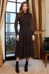 Платье,  Пояс AYZE 2331 черно-оранжевый