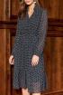 Платье AYZE 2354 чёрно-белый