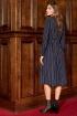 Платье,  Пояс AYZE 2370 синий