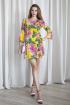 Платье ARTiMODA 321-10 желтый_принт_цветы