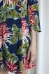 Платье ARTiMODA 321-10 синий_принт_цветы