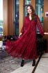 Платье Anastasia 713 т.красный