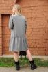Платье Arisha 1260 серый