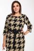 Платье Bonna Image 644 бежевый_лапка