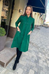 Платье Pavlova 124 зеленый