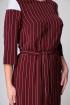 Платье Арита-Denissa 1173 бордо