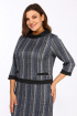 Платье Lady Style Classic 1505 серый