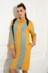 Платье Samnari Т142 горчица