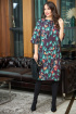 Платье Anastasia 559 т.фиолетовый