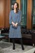 Платье Anastasia 716 синий