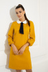 Платье Samnari Т144 горчица