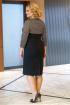 Платье Alani Collection 1574 черный