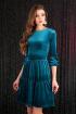 Платье Мода Юрс 2456 бирюза
