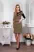 Платье Lucky mum 1049 золото