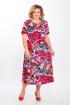 Платье Медея и К 1851 красные_цветы