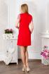 Платье Lucky mum 1121 красный