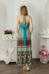 Платье Lucky mum 1126 бирюза