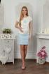 Блуза Lucky mum 105 голубой