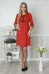 Платье Lucky mum 1159 красный