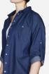Рубашка Mirolia 587-2 синий