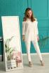 Блуза Edibor 1074 молочный