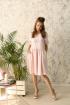 Платье Edibor 1080 розовый