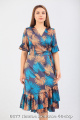 Платье Белтрикотаж 6677 листья