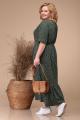 Платье Линия Л Б-1728 т.зеленый