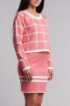 Комплект Nat Max ДЖ-0034 ЮБ-0035 розовый+белый