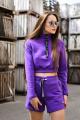 Шорты Rawwwr clothing ВТ034 фиолетовый